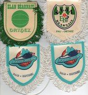 Lot De 7 Fanions De L'Elan Bearnais De Pau Orthez - Habillement, Souvenirs & Autres