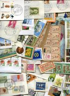 Weltweit / Posten Mit U.a. Kiloware, Briefe, Markenheftchen, Marken Unsort., Gewicht Rd. 400 Gr. (10054-400) - Briefmarken