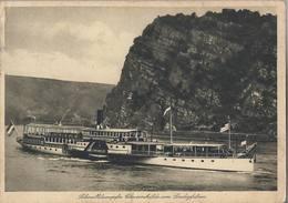 Schnelldampfer Chriemhilde Loreleyfelsen - H5111 - Traghetti