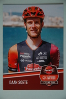 CYCLISME:DAAN SOETE - Cyclisme