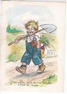 BOURET  GERMAINE,,,,J' VAS  ALLER VOIR Si Ma  NENETTE   A FAIT LA  SOUPE,,,SERIE 1216  4/4,,, - Bouret, Germaine