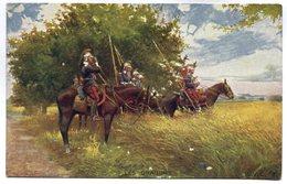 CPA - Carte Postale - Militaria - Les Dragons  ( M7331) - Régiments