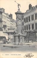 Namur - Animée, Attelage (Blanchisserie D'Annevoie) - Fontaine De L'Ange - Namen