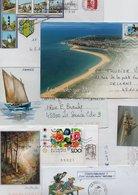 Lot De 40 Lettres - Touristiques, Dessins, Divers - 6 Scan. - Marcophilie (Lettres)