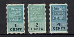 ERITREA...early Revenues...scarce - Erythrée