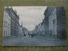 DENDERMONDE - RUE DE L'EGLISE 1914 ( Scan Recto/verso ) - Dendermonde