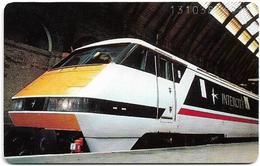 Germany - Deutsche Bahn - Eurailspeed 1 (InterCity 225) - O 0335 - 10.93, 6DM, 3.000ex, Used - O-Series : Séries Client
