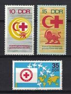 DDR Between 1969 + 1987, Red Cross Rode Kruis Rotes Kreuz Cruz Roja Croix Rouge **, MNH - Rotes Kreuz
