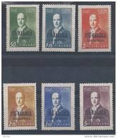 Finlande Occupation De La  Carélie Orientale1942 N°22/27 Neufs** MNH - Finlande
