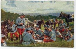 CPA - Carte Postale - Militaria - Une Bonne Partie  ( M7333) - Regimente