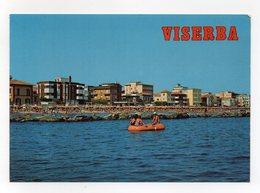 Viserba Frazione Del Comune Di Rimini - Alberghi E Spiaggia Visti Dal Mare - Non Viaggiata - (FDC14230) - Rimini