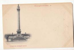 CPA 62 - Boulogne Sur Mer - Colonne De La Grande Armée - Carte Précurseur  : Achat Immédiat - Boulogne Sur Mer