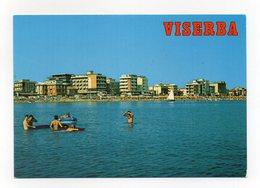 Viserba Frazione Del Comune Di Rimini - Alberghi E Spiaggia Visti Dal Mare - Non Viaggiata - (FDC14231) - Rimini