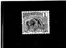 B - 1904 Guyana Fr. - Formichiere (linguellato) - Neufs