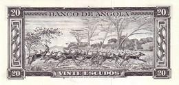 ANGOLA P.  92 20 K 1962 UNC - Angola