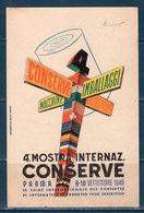 4° Mostra Internazionale Conserve 1949 Viaggiata - Manifestazioni