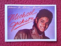 SPAIN ANTIGUO CROMO RARE OLD COLLECTIBLE CARD SUPER ÉXITO MICHAEL JACKSON Nº 96 CANTANTE SINGER INDIANA...MUSIC MÚSICA - Cromos