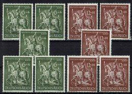 DR 1943 // Mi. 860/861 ** 5x - Deutschland