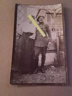 1918 Chasseur à Pieds 1er Bataillon Croix De Guerre Citation Prothese à Une Main Poilu Tranchée W1 1914 1918 14-18 - War, Military