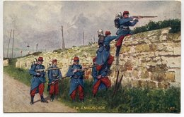 CPA - Carte Postale - Militaria - En Embuscade  ( M7336) - Régiments