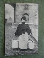 BRUGGE - MARCHANDE DE LAIT 1909 ( Scan Recto/verso ) - Brugge