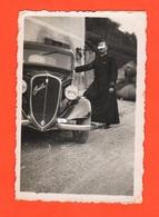 Fiat Topolino  Cappellano Militare Targa Vicenza Car Military Chaplain - Divise
