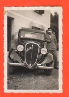 Fiat Topolino Targa Vicenza Old Photo - Divise