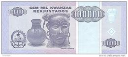 ANGOLA P. 139 100000 K 1995 UNC - Angola