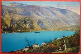 MONTENEGRO - CRNA GORA , CATTARO , PUTEVI CRNE GORE , K.u.K. ZENSURIERT ``KOBILA`` - Montenegro
