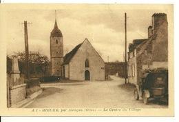 61 - MIEUXE Par ALENCON / LE CENTRE DU VILLAGE - Alencon