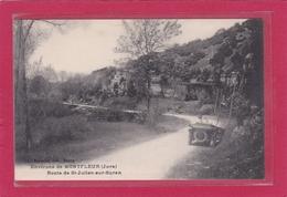 MONTFLEUR (environs De) -39- Route De Saint Julien-sur-Suran (automobile) - France