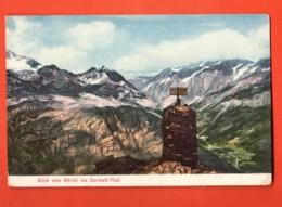 TRQ-24 Zermatt Blick Vom Hörnli Ins Zermatt-Tal. Geodätischer Punkt. Géodésie. Nicht Gelaufen - VS Valais