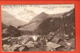 TRQ-31 Le Sépey Vue Générale Et Dent Du Midi. Circulé 1911 Vers La France. Denéréaz 9206 - VD Vaud