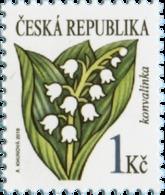 ** 986 Czech Republic Lily Of The Valley 2018 - Tschechische Republik