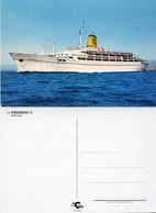 "Ship Postcards - Passenger   Ship : "" Frederico C    "" Variant  Read Description - Ships"