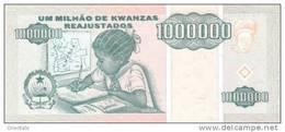ANGOLA P. 141 1000000 K 1995 UNC - Angola