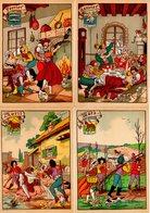 Lot 8 Cartes - Illustrateur - Les Douze Mois De L'année -  Ed. M. Barré & J. Dayez - Cartes Postales