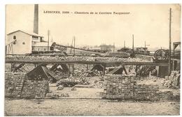 LESSINES, 1909. - Chantiers De La Carrière Tacquenier. Oblitération Tournai 1911. - Lessen