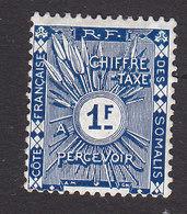 French Somali Coast, Scott #J8, Mint Hinged, Postage Due, Issued 1915 - French Somali Coast (1894-1967)
