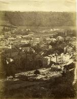 Photo LONGWY BAS Circa 1890 Quartiers De La Gare Construction 14x11 - Photos