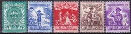 Indonesieni, 1955, 138/42, Pfadfindertreffen. MNH ** - Indonesia