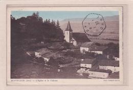 MONTFLEUR -39- L'Eglise Et Le Château - France