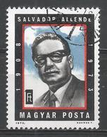 Hungary 1974. Scott #2279 (U) Salvador Allende (1908-73) President Of Chile ** - Hungary