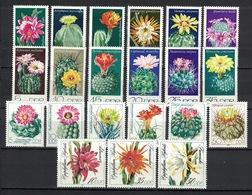 DDR Between 1970 - 1989, 4x Cactus Kaktus Cacto **, MNH - Sukkulenten