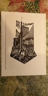 Old USSR Postcard S,Pilman - Famous Organ Player Ex Libris - Orgue - Musique Et Musiciens
