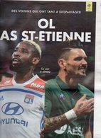 Lot De 2 Programmes Du Match LYON / SAINT ETIENNE Du 23 Novembre 2018 - Habillement, Souvenirs & Autres