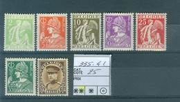 335-341 Xx Côte 25.00€ - Belgien