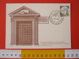 A.09 ITALIA ANNULLO - 1992 CESENA FORLI ELEFANTE PREMIO FILATELIA GIOVANILE GIUNCHI ELEPHANT - Elefanti