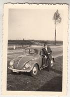 VW Coccinelle - Kever - Photo Format 6 X 8.5 Cm - Cars