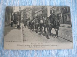 WW1 CPA BOULOGNE SUR MER ARTILLERIE ANGLAISE - Guerre 1914-18
